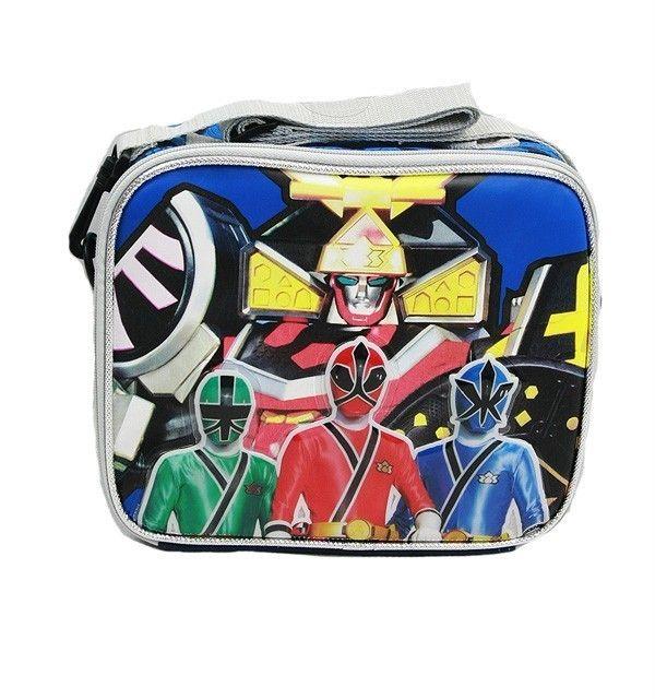 Power Rangers Samurai Lunch Box Insulated 100 Authentic