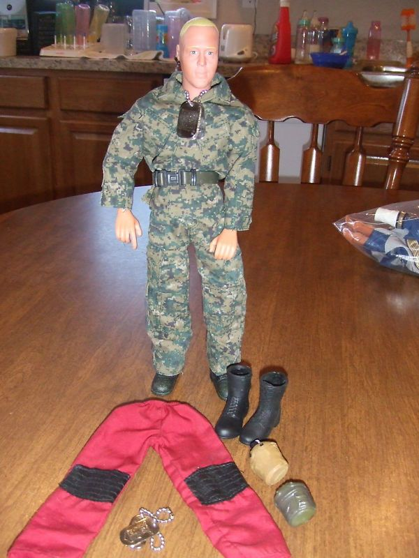 Toy Centre Action Figure Doll 12in Accessories