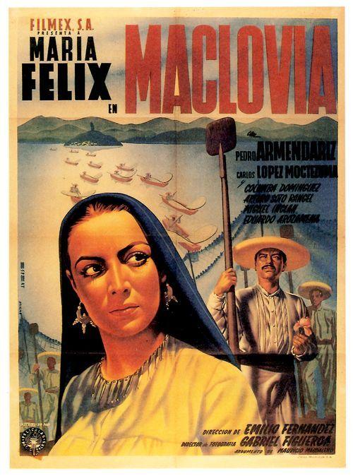 Maria Felix Poster Maclovia Unik Uncut Style