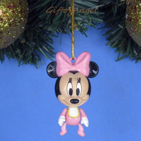 Ornament Xmas Tree Home Decor Disney Mickey Minnie Mouse Baby A243