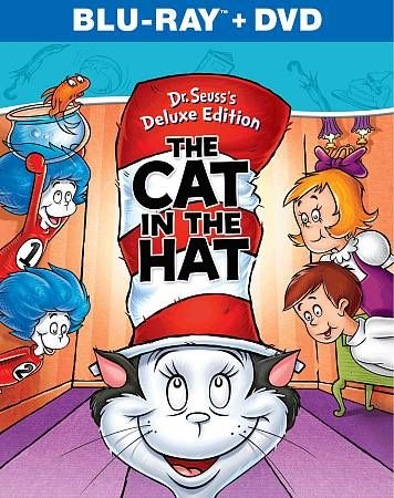 Dr. Seuss   The Cat in the Hat Blu ray DVD, 2012, 2 Disc Set, Deluxe