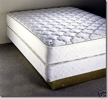 brand new king size mattress and box spring set look