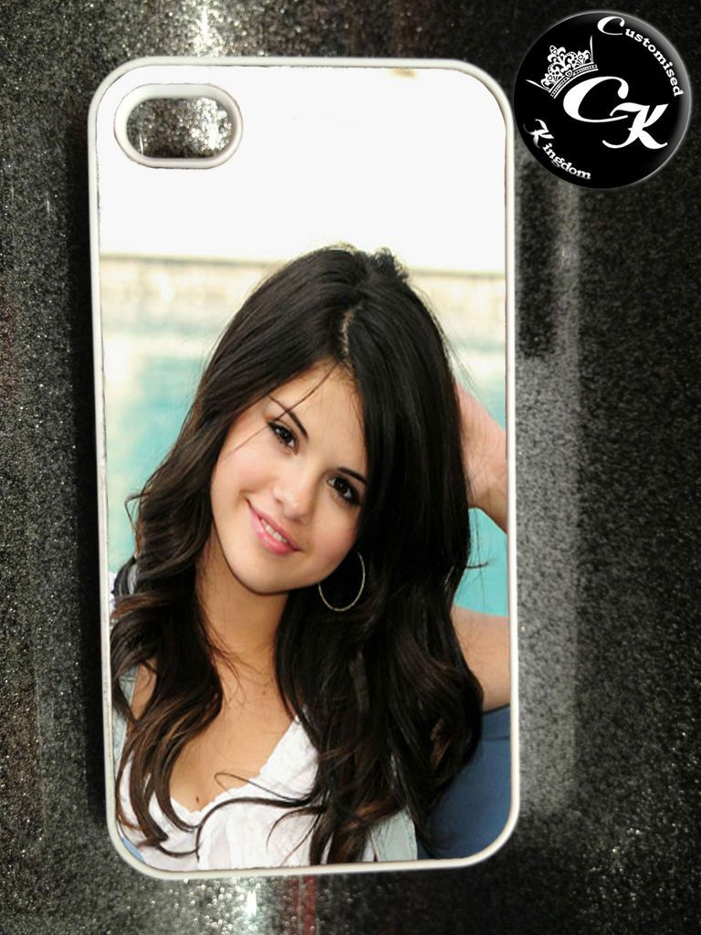 SELENA GOMEZ IPHONE 4/4S PRINTED HARD CASE COVER GIFT DESIGN