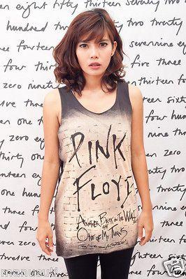 Pink Floyd The Wall David Gilmour Pop Art WOMEN T SHIRT DRESS Tank TOP