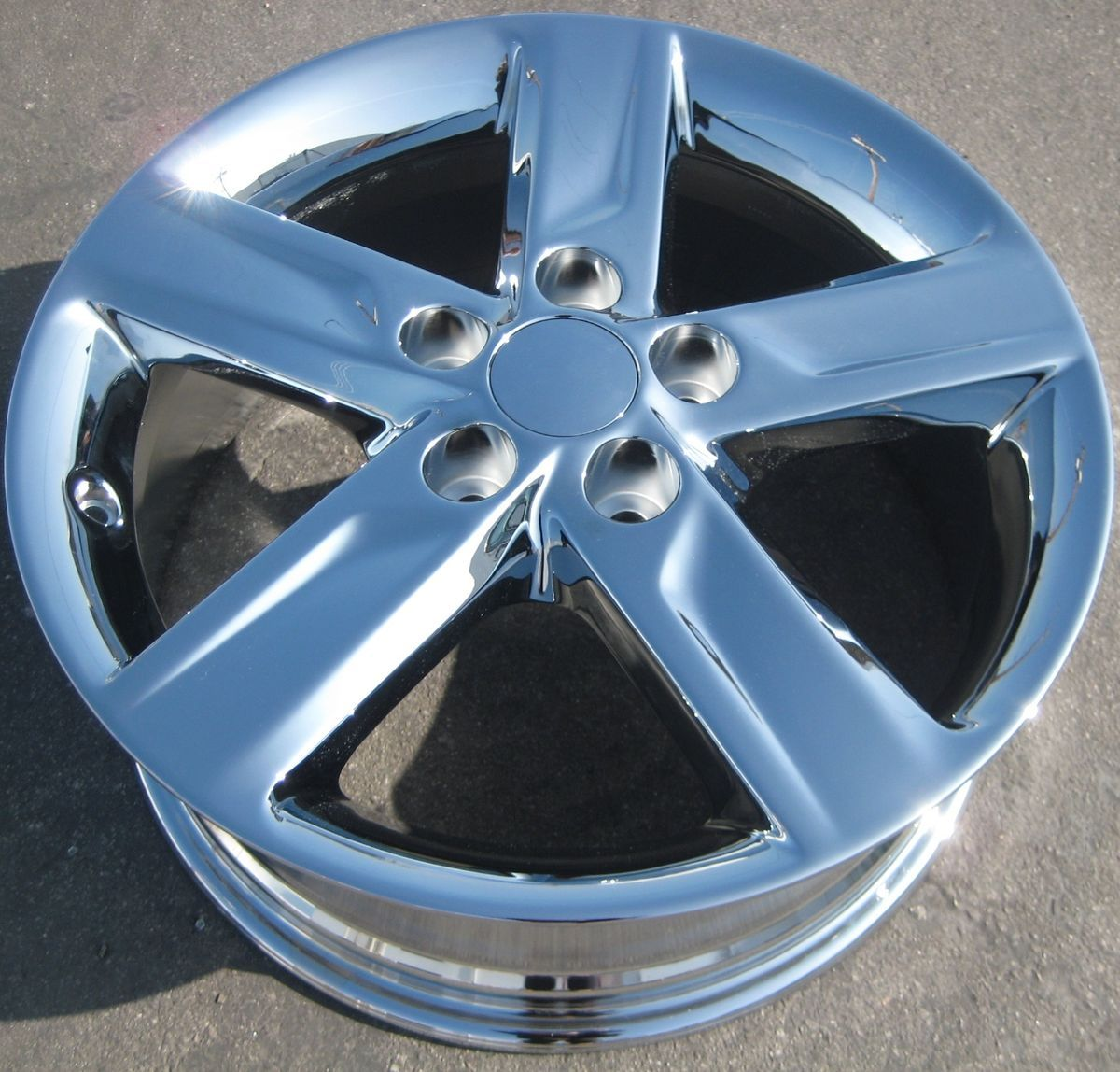 YOUR STOCK 4 NEW 2012 17 FACTORY TOYOTA CAMRY OEM CHROME WHEELS RIMS