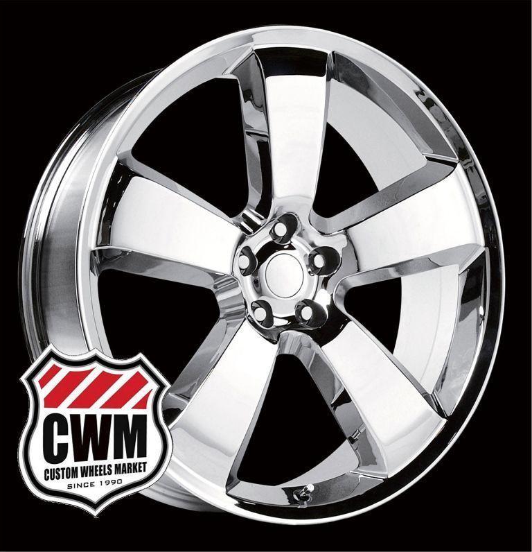 Dodge Charger SRT8 Style Chrome Wheels Rims for Chrysler 300 2010