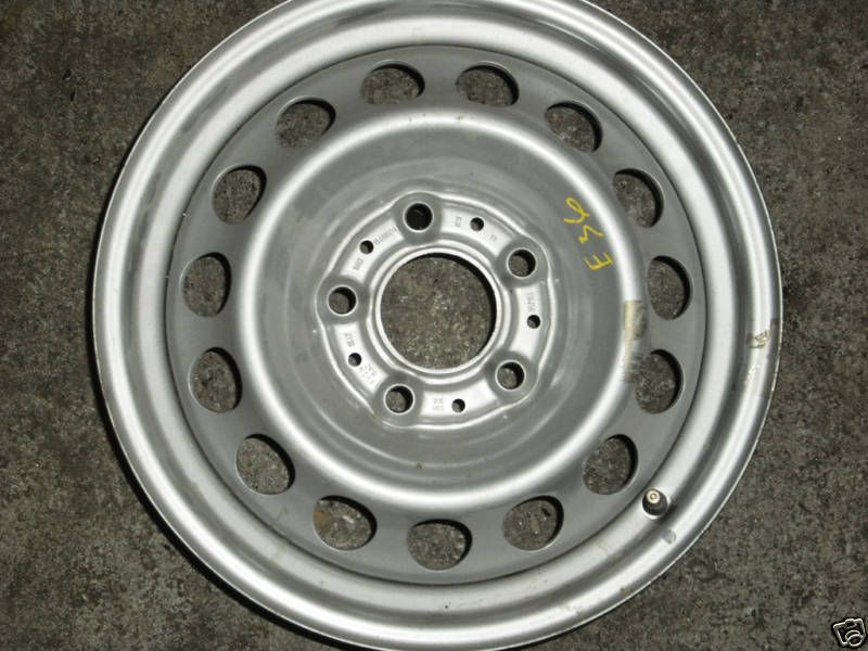 15 Factory Steel Wheel 2004 to 2007 Chevy Colorado