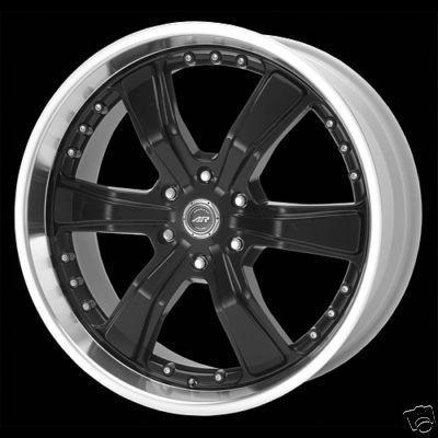 American Racing Razor AR3003 Black Chevy Ford F150 Wheels Rims