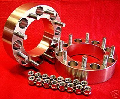 8x200 Wheels Spacers Adapters 8 Lug Ford F350 Dually