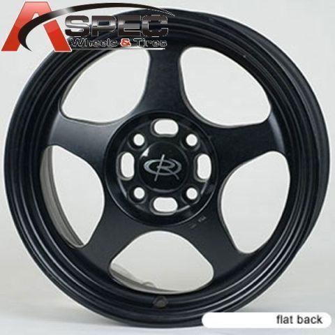 Rota Slipstream 15x8 4x100 ET40 67 1 Black Rim Wheels