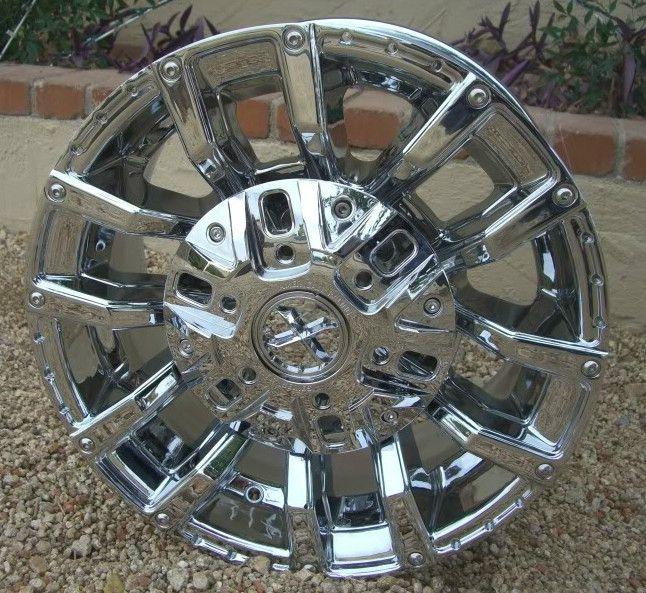 17 Inch CHROME RIMS Wheels Chevy GMC Sierra 1500 Silverado Tahoe 6 Lug