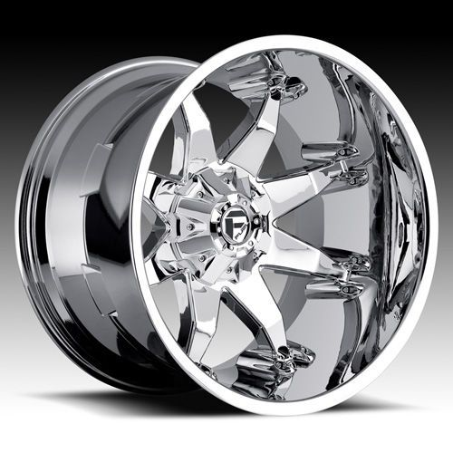 Fuel Octane D508 Chrome Wheels Chevy Ford Dodge 20x12