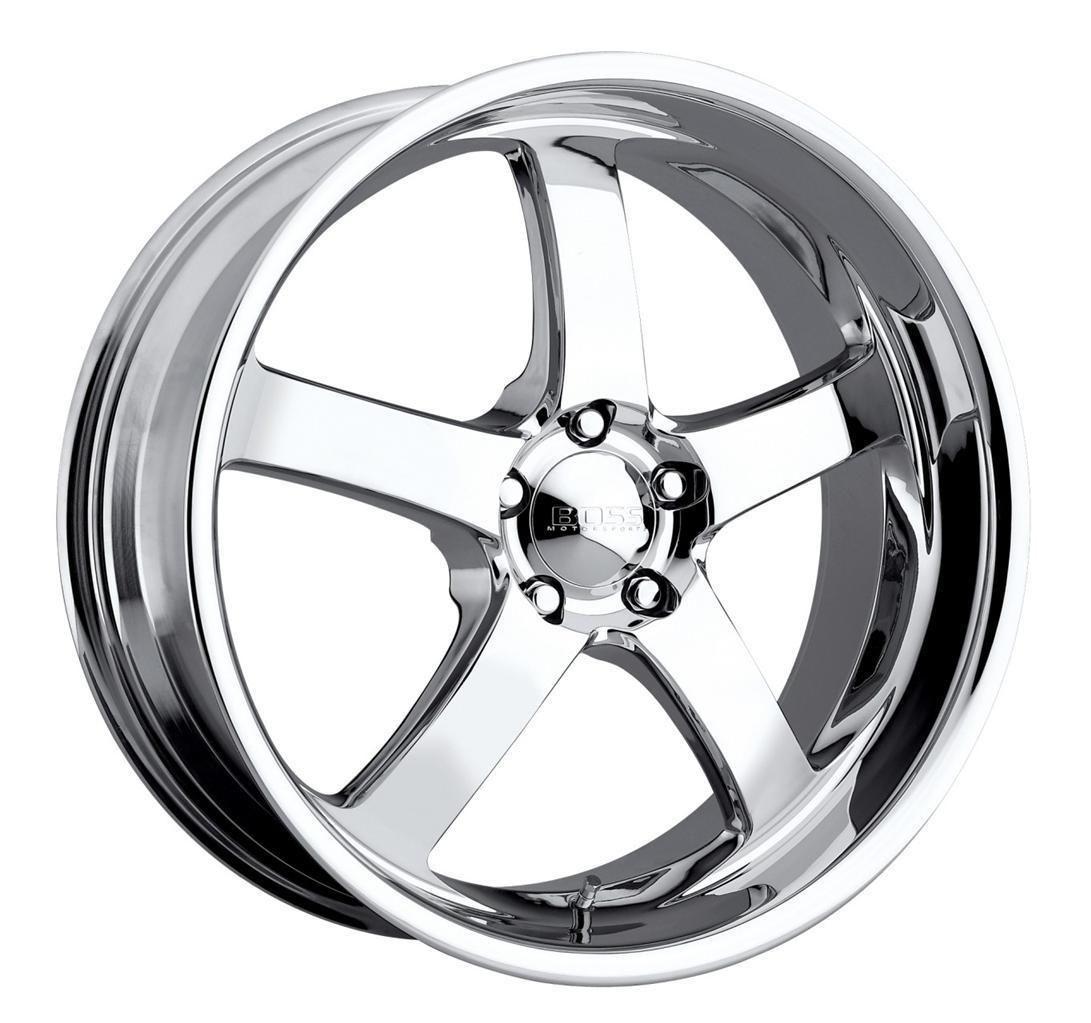 20 inch 20x8 5 Boss 335 Chrome Wheel Rim 5x112 25