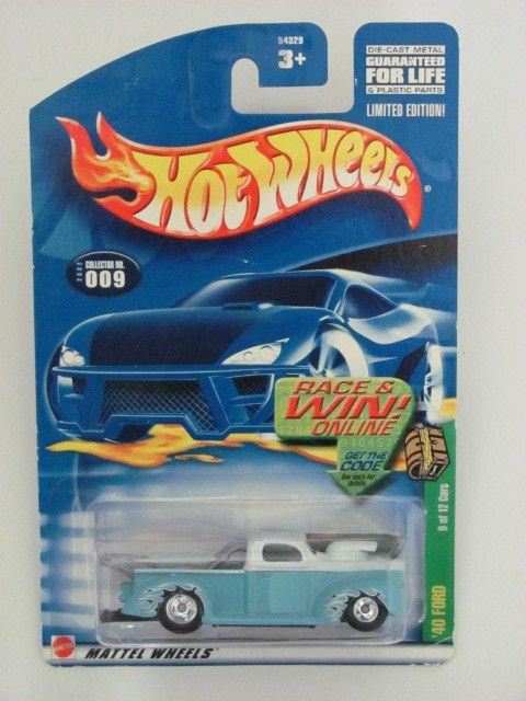 Hot Wheels 2002 Treasure Hunt 40 Ford Truck Mattel Limited Edition