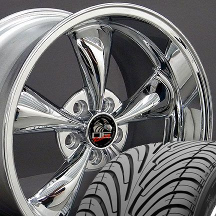 18 9 10 Chrome Bullitt Wheels Nexen Tires Rims Fit Mustang® 94 04