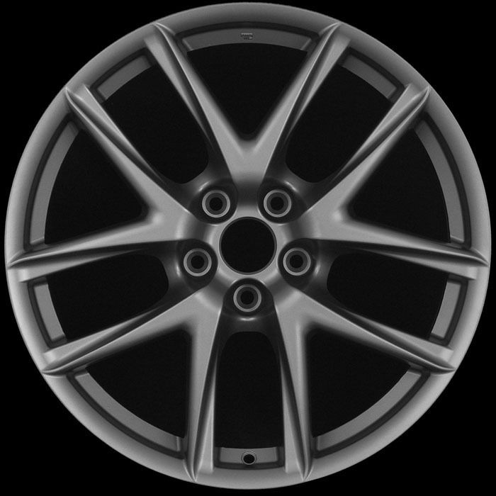 19 LFA Matte Gun Metal Wheels Rims Fit Infiniti G35 G37 FX Q45 M45