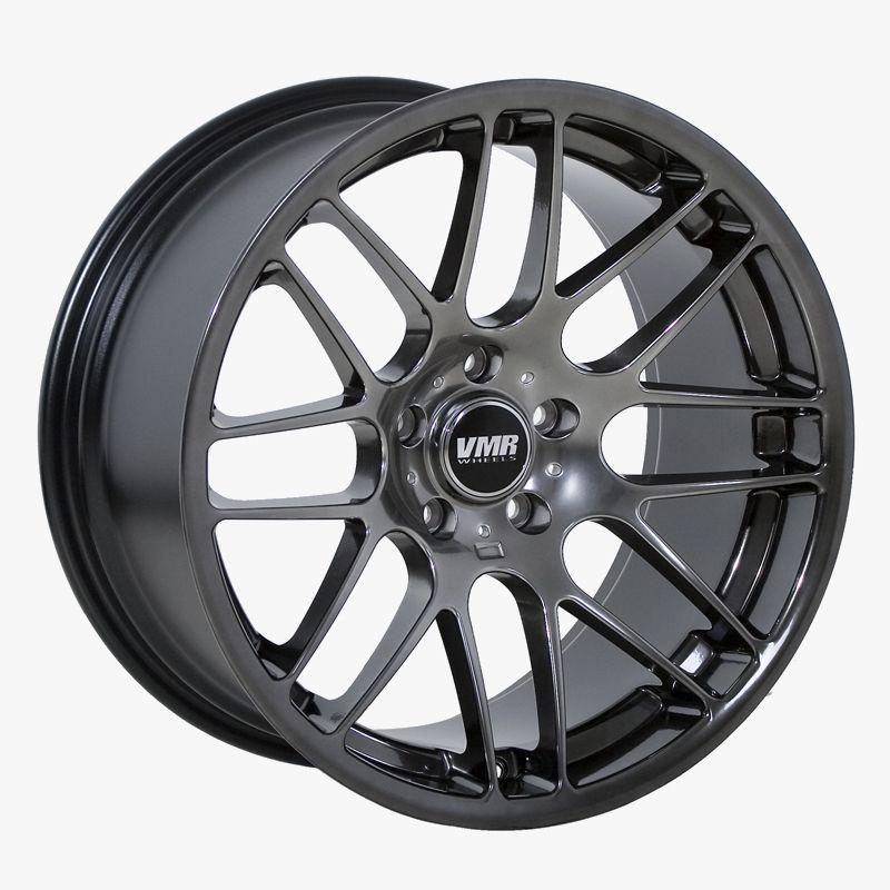 18 VMR VB3 Hyper Black Wheels Rims Fit BMW E46 1995 2005 3 Series