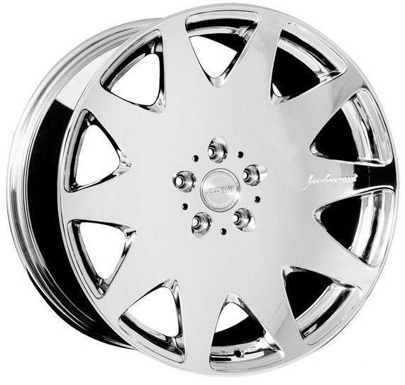 Chrome Wheels Set for Mercedes W221 S550 S400 S500 S63 S65 Rims