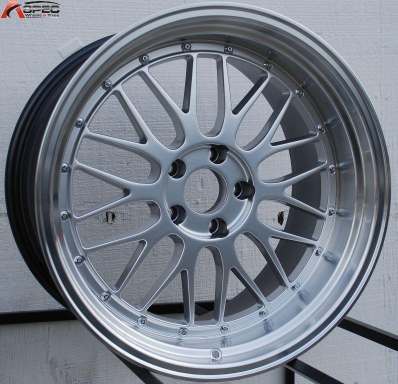 19x9 5 R 19x11 5x120 Hyper Silver Rim Wheels Fit BMW 335i M3