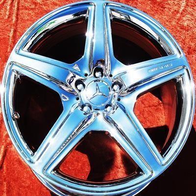 New 20 Mercedes Benz CL63 S63 AMG Chrome Wheels Rims