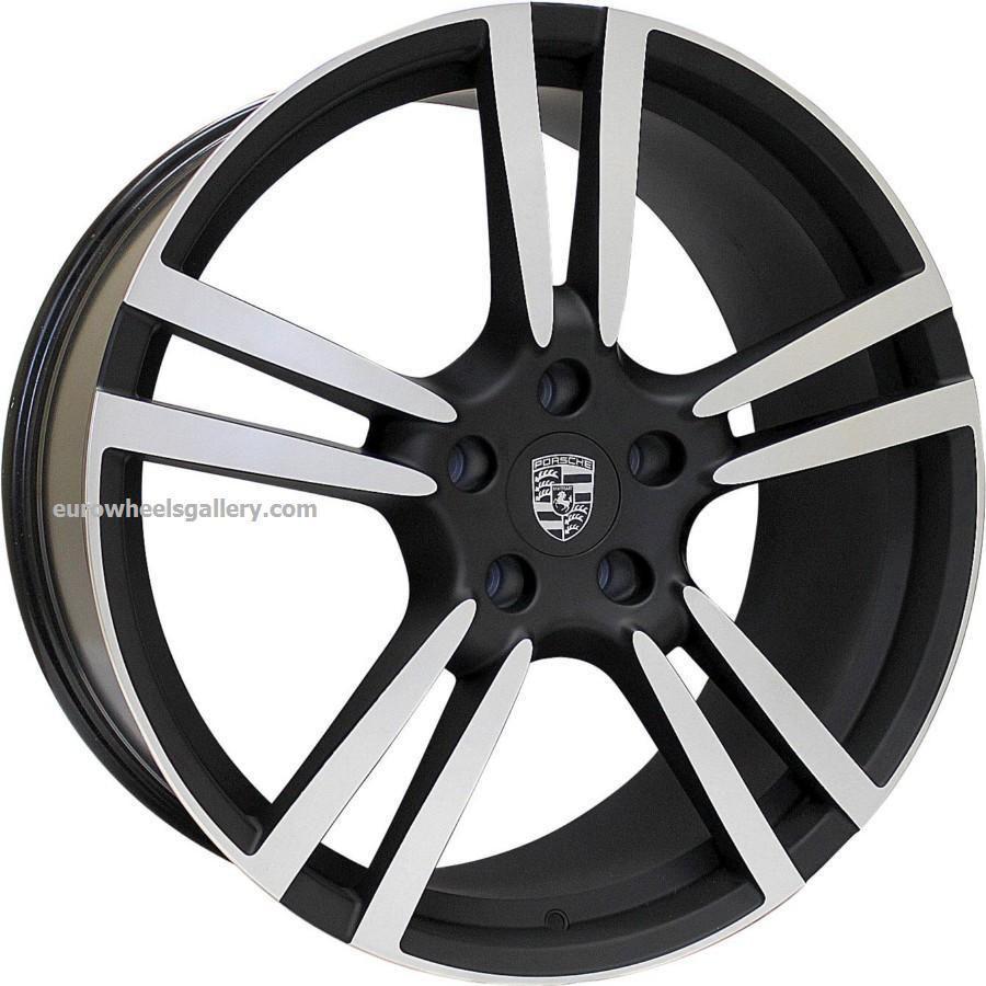 20 Eurosport PR5 Turbo II Style Wheels Set For Porsche Panamera Rims