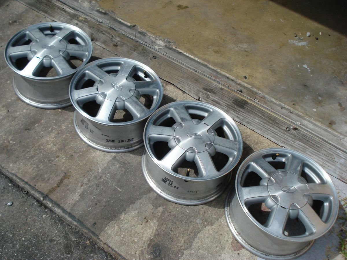 15x7 4WD Rims Wheels Olds Bravada Jimmy Chevy S10 Truck Blazer