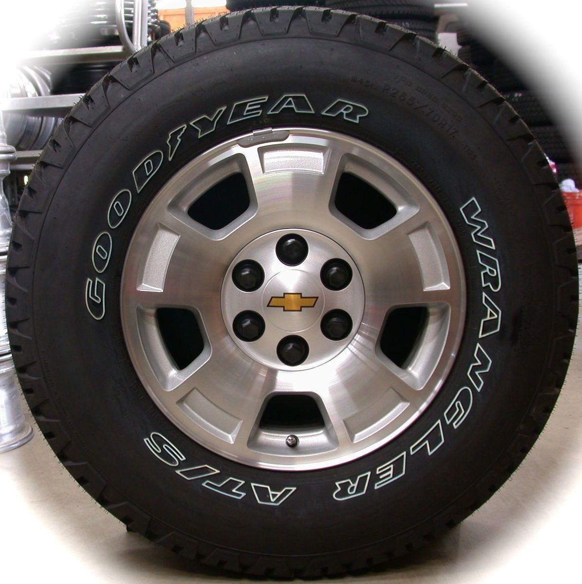 Silverado Tahoe Suburban Avalanche OEM Factory 17 Wheels Rims Tires