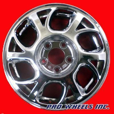 CENTURY OLDSMOBILE INTRIGUE 16 CHROME FACTORY OEM WHEEL RIM 6037 31590