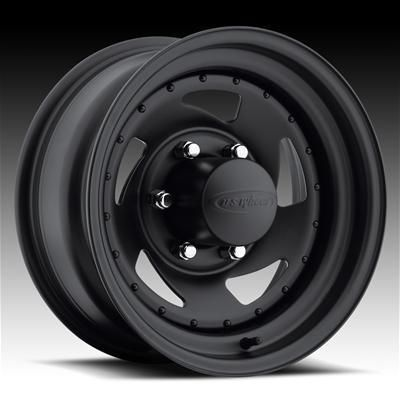 Series Stealth Blade Black Steel Wheels 15x8 5x4 5 Set of 4
