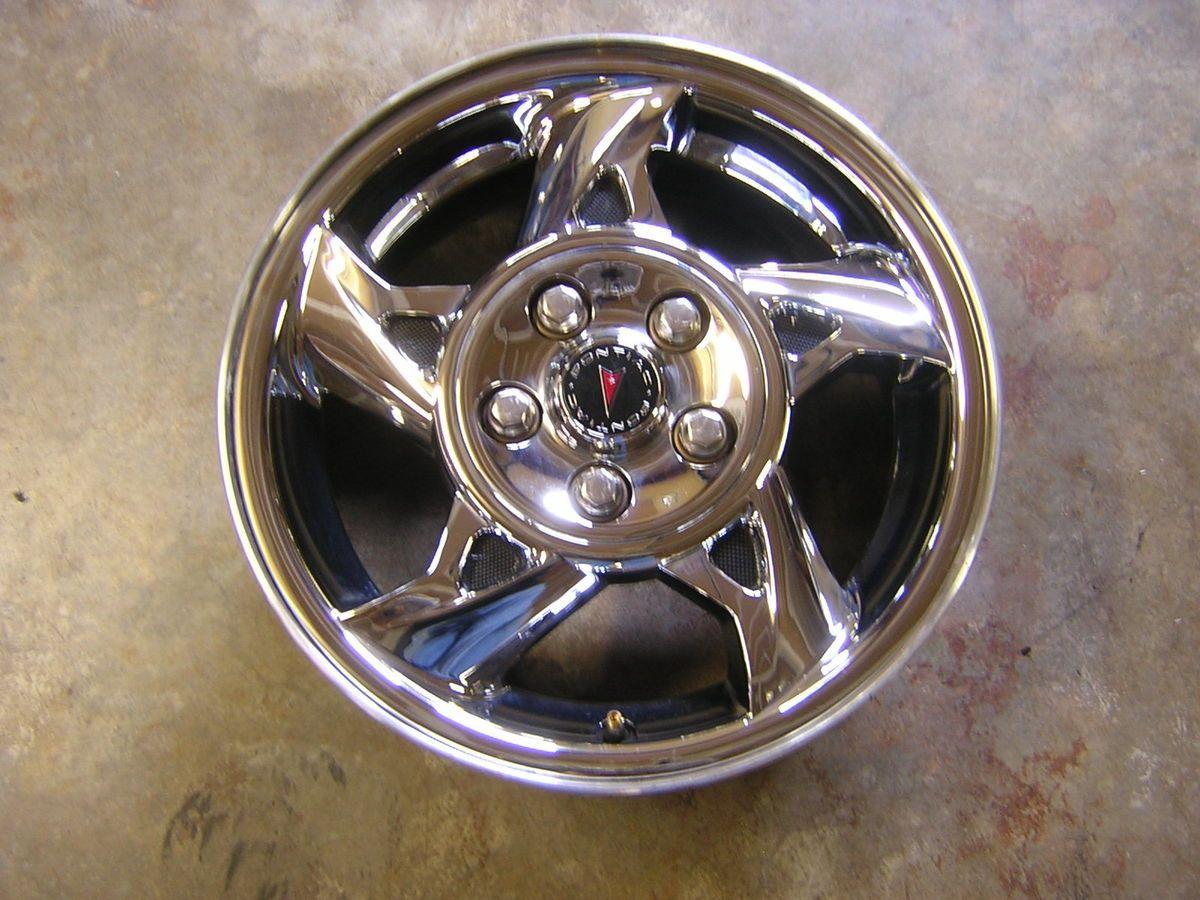 05 Pontiac Grand Am 16 Chrome Alloy Wheel Rim Factory 6557