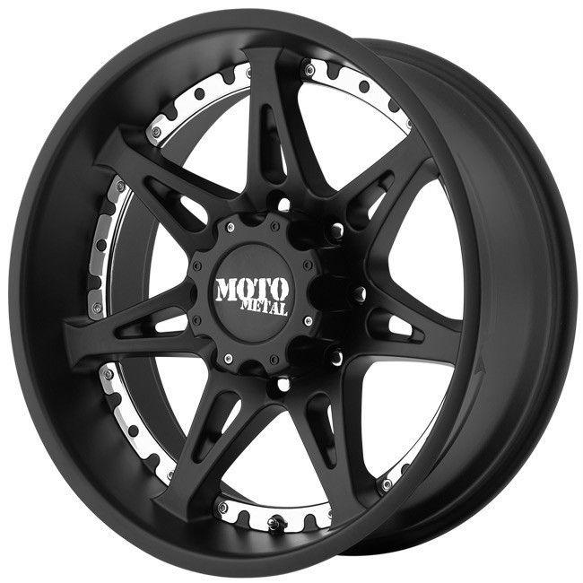 Moto Metal Black Wheels Rims 6x135 24 Ford F150 Expedition