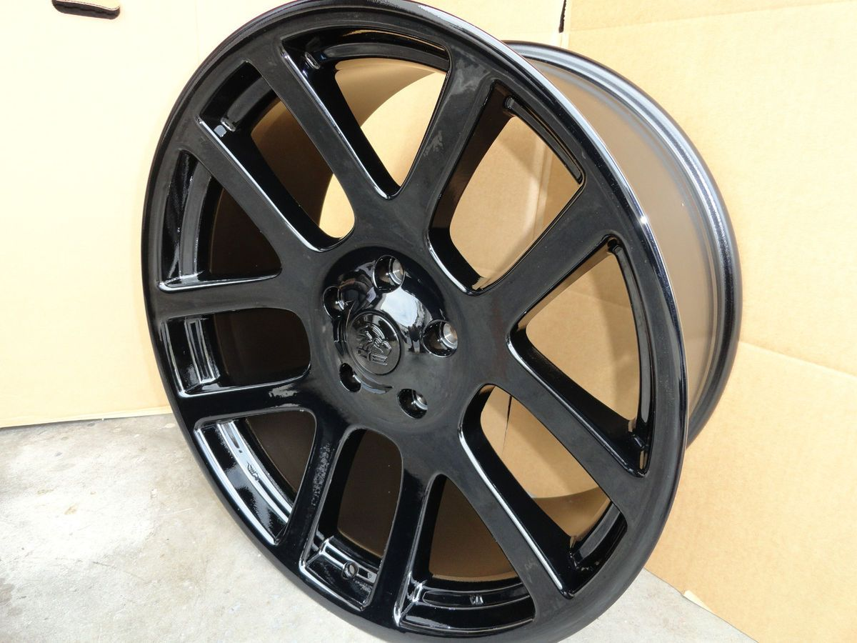 RAM Laramie Hemi Dakota Durango Factory Style Wheels Rims Black