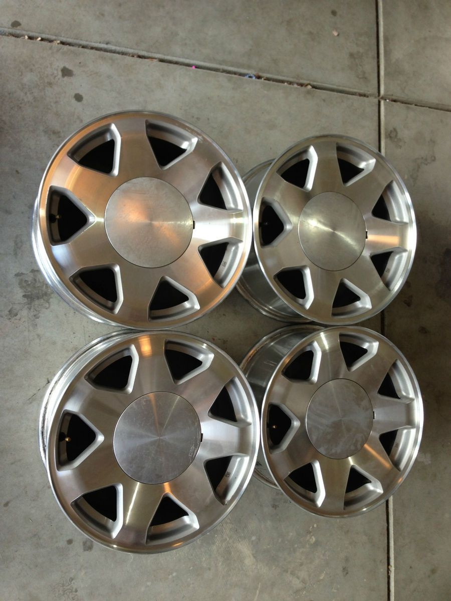 17 6 Lug Cadillac Escalade Wheels Rims Factory Chevy GMC Denali Tahoe