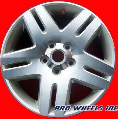 IMPALA MONTE CARLO 17X6 5 MACHINED SILVER FACTORY WHEEL RIM 5071
