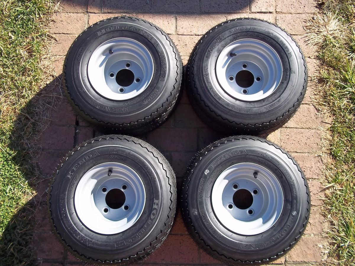 Approved Radial Golf Cart Tires and Wheels fits Club Car Yamaha Ezgo