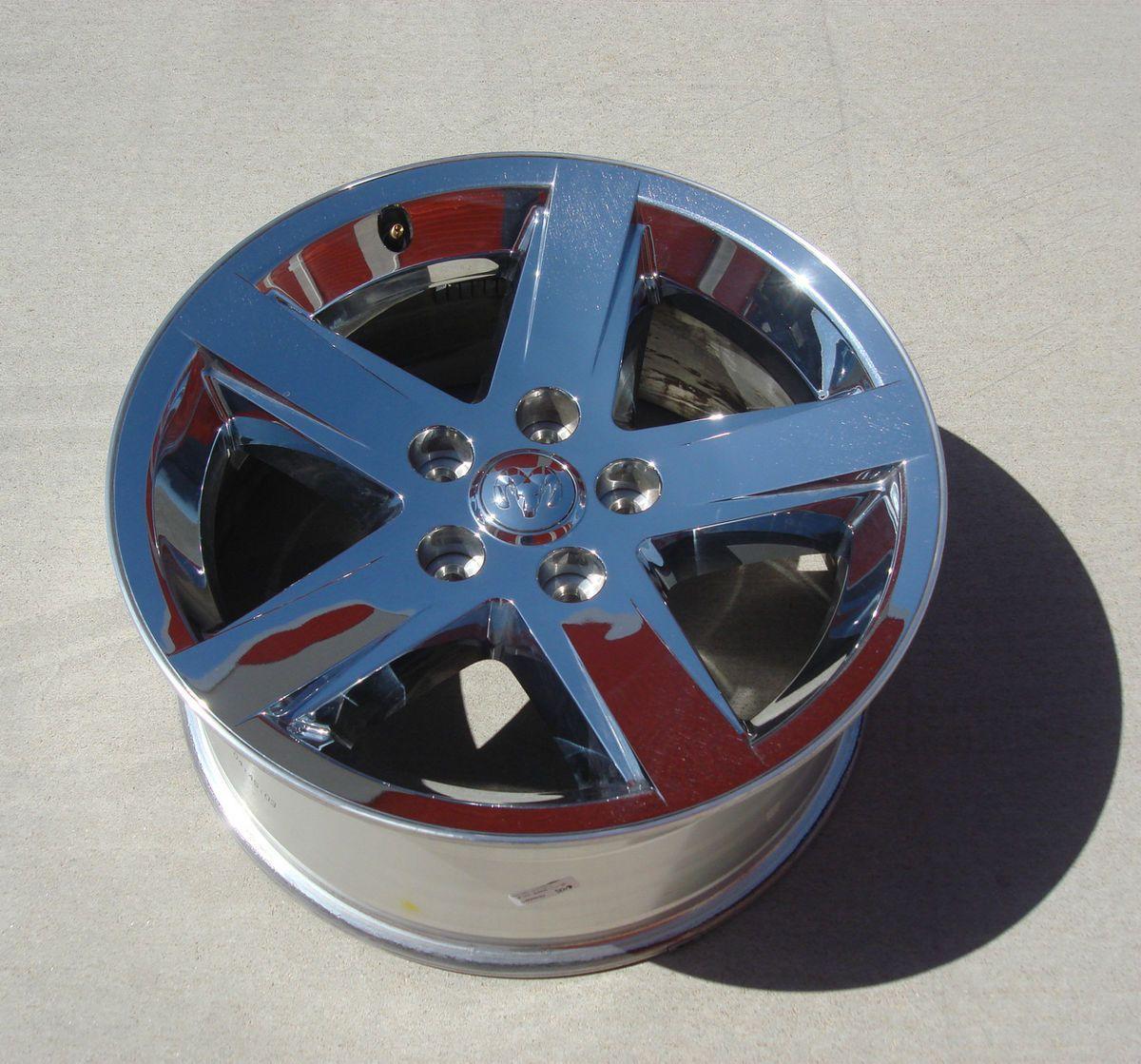 2012 Dodge Ram 20 INCH Chrome Clad Alloy Rim / Wheel, Used OEM Mopar