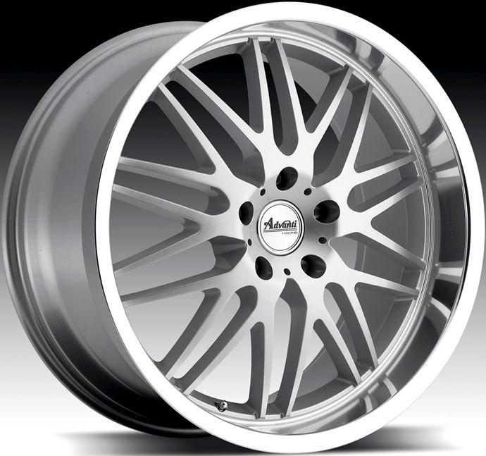 Racing Kudos 5x120 40 Silver Rim Wheels Fits BMW x3 330 325 323