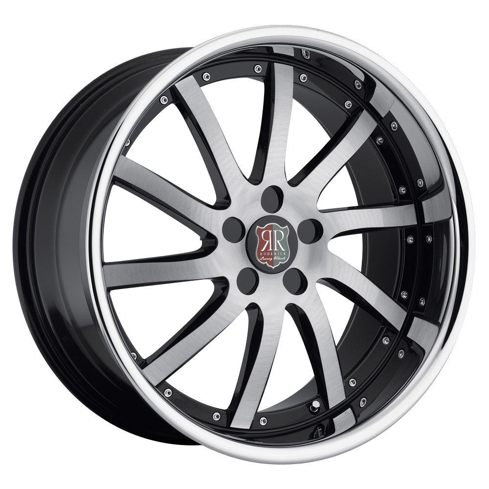 20 MRR RW4 Black Chrome Wheels Rims Fit Nissan Altima Maxima Murano