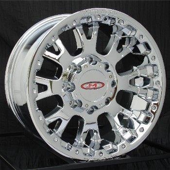 17 inch Chrome Wheels Rims Ford F250 F350 Truck 8 Lug