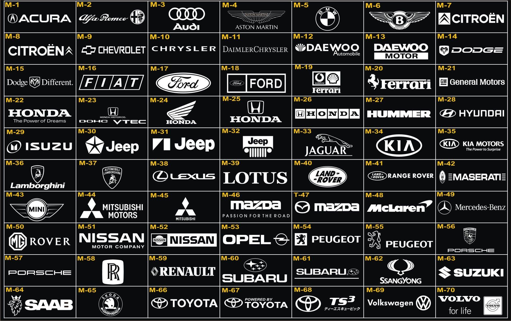 Toyota TRD Mazda GSR Sponsor 500 Design Stickers Decals